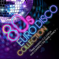 CD 80s Euro Disco Colección de Various Artists 2CDs