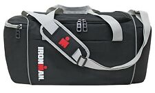 IRON MAN TRIATHLON MEDIUM  DUFFLE PACK DAY PACK  BOOK   BAG  BLACK