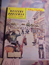 COLLECTIBLE DECEMBER 1972 WESTERN HORSEMAN MAGAZINE