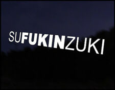 Sufukinzuki SUZUKI Car Decal Sticker Suzuki Alto Swift Vitara SJ Wagon Sport