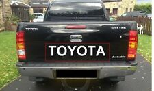 Sticker Decal for Toyota Hilux Tailgate tailgate rear door back pick up D4D vigo
