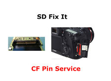 Canon EOS 40D 50D DSLR Body CF Memory Card Pin Replacement Repair Service