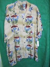 Shirt, Mens Tropical 3XL Big Pineapple Connection Tan Car WOODIE Beach Korea @@!