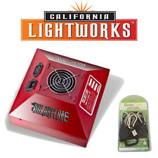 California Light Works SolarFlare 220W LED Grow Light Full Cycle w FREE Ratchets