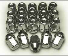 Set of 20 x Wheel Nuts Bolts Lugs Chrysler 300 C. 14x1.50 34mm 21 Hex