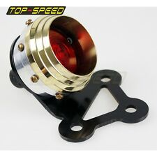 Rücklicht Brass Silver Retro Rivet Taillight For Harley Backroad Choppers bobber
