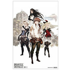 "Bravely Default Promo Poster (24 x 36"") Official Nintendo Square Enix Print"