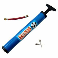 "BALL BIKE T HANDLE PUMP Needle 30cm 12"" Valve Adaptor Bicycle Football Sports NW"