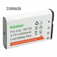 1x Kastar Battery for Casio NP-90 NP90 Exilim EX-H10 H15 H20G H20GBK FH100