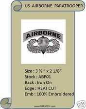 AIRBORNE WINGS WITH LETTERING PATCH - ABP01
