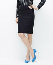 Ann Taylor -  XS (0-2) Dark Sky Blue Ottoman Sweater Skirt  $89.00 (D608)