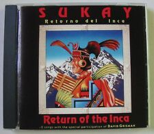 SUKAI (CD) RETURN OF THE INCA -  DAVID GRISMAN - EDDY NAVIA - ENRIQUE CORIA