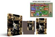 Zelda The Legend Of Link Complete Box Set New Sealed NES