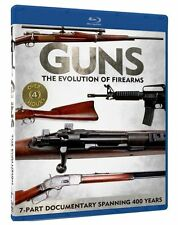 GUNS: THE EVOLUTION OF FIREARMS ( BLU RAY ) NEW AND SEALED