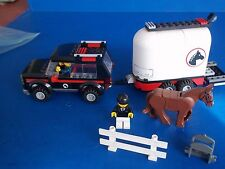 Retired Lego city farm 4wd with horse trailer (7635)