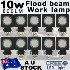 10X 10W Cree LED Work Light Flood Lamp Driving Fog Car Motorcycle Boat AU stock