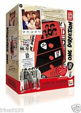 One Direction 1D Infantil Altavoz Música Armario & MP3 Conector Set De Regalo