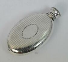 1926 Art Deco Solid Silver Miniature Hipflask S Blanckensee