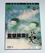 "Chow Yun-Fat ""Prison on Fire 2"" Chan Chung-Yung RARE HK 1991 Action OOP DVD"