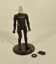 "2010 Jarvis Complete 4"" Light-Up Spin Master Action Figure Disney Tron Legacy"