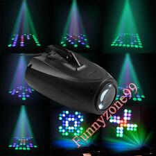 64 LED RGBW Stage Light Music Active Crystal Xmas Club DJ Party Disco Laser Lamp