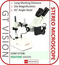 ST50B Stereo Microscope, 20X Mag - LED - PCB/Mobile Phone Repair -GX Microscopes