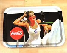 """Coca-cola Coke bandeja para servir extraíble 39 x 28 cm Estados Unidos tray """"Beach Babies"""""""