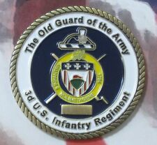 THE OLD GUARD OF THE ARMY 3d U.S. INFANTRY REGIMENT US ARMY COIN 216150