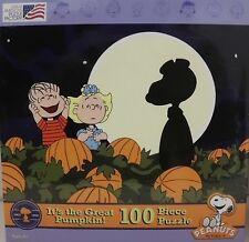 PEANUTS Puzzle 100 Teile  Halloween 2 Neu OVP