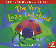NEW  the VERY LAZY LADYBIRD  picture book & CD set