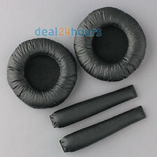 Replacement Ear Pads Headband Cushions for Sennheiser PX100 PX200 Headphones New