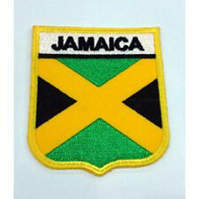 Jamaica Nation Country Flag Embroidered Sew/Iron On Patch Patches