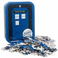 New Doctor Who TARDIS Mini Jigsaw In Collector's Tin 150 Pcs Puzzle BBC Official