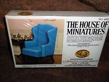 The House of Miniatures Xacto Series Chippendale Wing Chair!!! New Sealed!!!