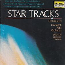 Erich Kunzel & Cincinnati Pops Orchestra - Star Tracks CD (Pressed in Japan)