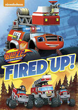 Movie BLAZE & THE MONSTER MACHINES-FIRED UP DVD Kids and Family Fun Night New