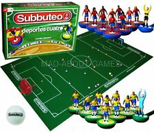 SUBBUTEO Spagna vs MUNDIAL BRASILE Set calcio soccer board game TOY Miniatures