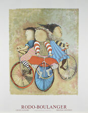 """""""Trio"""" by Graciela Rodo Boulanger Lithograph 31 1/2""""x23 1/2"""""""