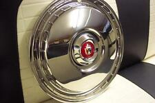 1955 1956 Ford & T-Bird NEW Set of 4 Full Wheel Covers with Medallions NEW 55 56