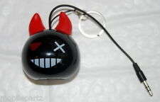Kit Sound Mini Buddy Devil Bomb - Wired Portable Speaker for iPhone iPad Phones