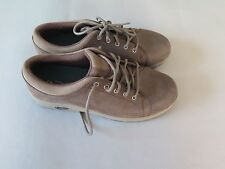 CHACO CHACOS CHOCOLATE BROWN MENS OILED LEATHER ASHWIN SNEAKERS SHOES 10