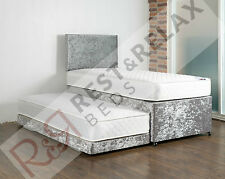 **3 In 1 Guestbed/Day Bed 2xOrthoMattresses + Trundle FREE DELIVERY/HEADBOARD**