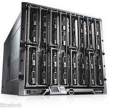 Dell PowerEdge M1000E Chassis + 16 x M610 blade servers 32 x SIX-CORE XEON 768GB
