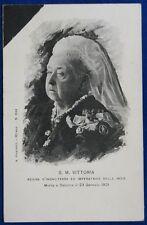 SUA MAESTA' VITTORIA Regina d'Inghilterra e Imperatrice delle Indie NV f/p#22015