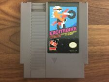 Excitebike (Nintendo Entertainment System, 1985) Tested! Free US Shipping