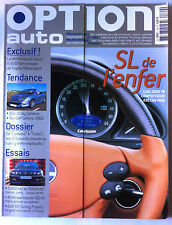 Option Auto n°129 du 3/2002; Carlsson V8/ A6 Allroad biturbo/ Golf Gti Tuning Pr