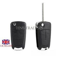 NEW Vauxhall Opel Corsa Astra Vectra Zafira 2 Button Remote Flip Key Fob Case **