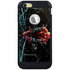 Apple iPod Touch 5/6 5th/6th Gen. Hybrid Case Cover Spiderman Web Drawing H