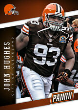 JOHN HUGHES Browns Team Colors  Panini 2014 National Collector Convention