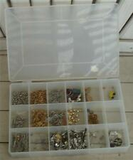 Jewelry Maker's Dream Box, Miscellaneous Pieces and Parts, GREAT